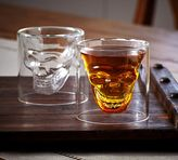 Pottery Barn Skull Shot Glass