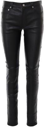 Saint Laurent Skinny Fit Leather Pants