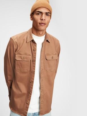 Gap Chamois Shirt Jacket