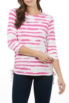 FDJ French Dressing Cloud Stripe Top