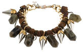 Assad Mounser Quartz Metallic Link Bracelet