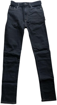 Y/Project Black Cotton - elasthane Jeans