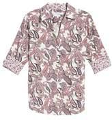 Foxcroft Mary Paisley Wrinkle Free Shirt