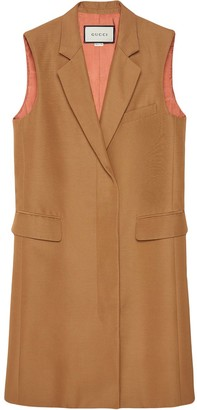 Gucci Single-Breasted Long Vest
