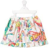 Roberto Cavalli paisley print skirt - kids - Cotton/Spandex/Elastane - 2 yrs