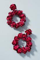 BaubleBar Metallic Wreath Drop Earrings