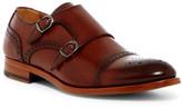 Antonio Maurizi Double Monk Leather Semi Brogue Slip-On