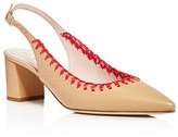 Kate Spade Madison Stitched Slingback Pointed Toe Pumps