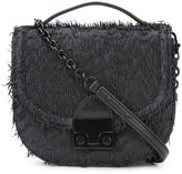 Loeffler Randall mini Fringe saddle bag - women - Nappa Leather - One Size