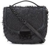 Loeffler Randall mini Fringe saddle bag