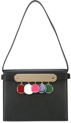 Edie Parker coin detail clutch bag