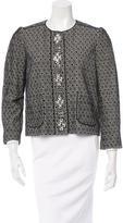 Tory Burch Embellished Patterned Jacket
