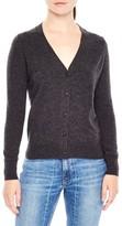 Sandro Women's Tie Back Wool & Cashmere Cardigan