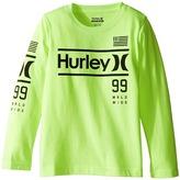 Hurley Pride Only Long Sleeve Tee (Little Kids)