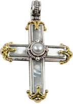Konstantino Mother-of-Pearl Cross Pendant