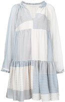 Stella McCartney Erika striped dress - women - Silk/Cotton - 36