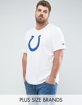 New Era Plus Nfl Indianapolis Colts T-shirt In White