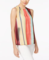 Catherine Malandrino Concha Striped Top