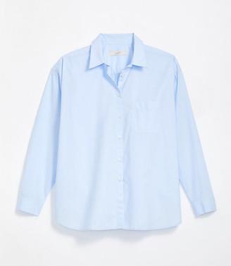 LOFT Pocket Button Down Shirt