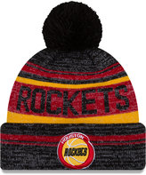 New Era Houston Rockets Hardwood Classics Snow Dayz Knit Hat