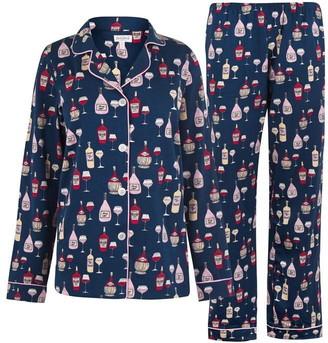 BedHead Wine Taster Long Sleeve Pyjama Set