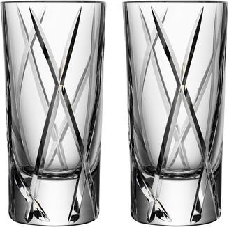 Orrefors City Set of 2 Shot Glasses