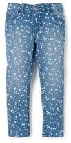 Nevada Girls Allover Star Print Denim Jeans