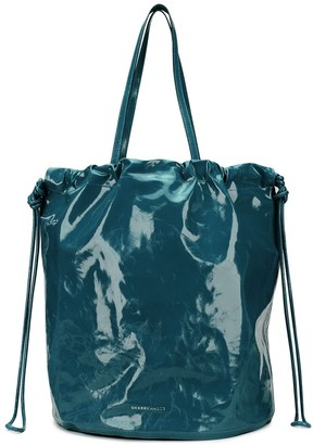 Sharkchaser Large Logo Embossed Bucket Bag