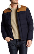 Levi's Levi&s Quilted Faux Shearling Lined Shirttail Jacket