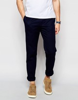 Lacoste Chinos In Navy Slim Fit