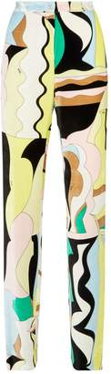 Pucci Abstract Flared Trousers