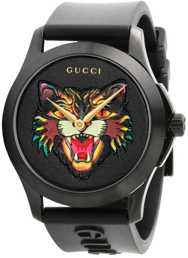 Gucci Watch G-timeless Watch 38 Mm Case In Pvd Brushed