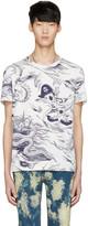 Gucci White Sea Storm T-Shirt
