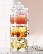 Horchow Stacked Optic-Glass Beverage Server