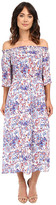Brigitte Bailey Maisie Off the Shoulder Mid-Length Dress