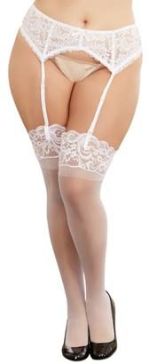 Dreamgirl Plus Size Lace Garter Belt