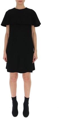 Givenchy Cape Dress