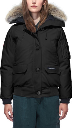 Canada Goose Chilliwack PBI Bomber Coat with Fur Hood