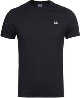 Cp Company Navy Hood Printed Short Sleeve T-shirt