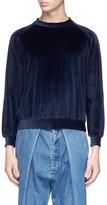 Sunnei Cotton velour sweatshirt