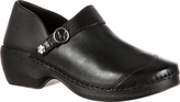 Women's 4EurSole Leather Clog RKYH046