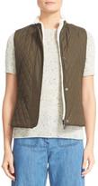 Belstaff Westwell Reversible Faux Fur & Quilted Tech Vest