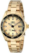 Invicta Women's 15138SYB Pro Diver 18k Ion-Plated Dive Watch