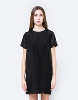 Woven Shift Dress