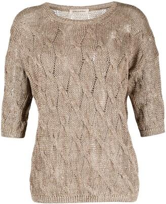 Gentry Portofino Sequin-Embellished Knitted Jumper