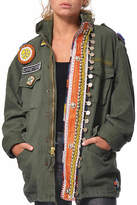 Gypsetters Tribal Embellished Parka
