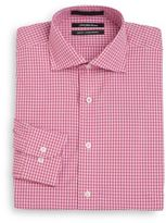Saks Fifth Avenue Slim-Fit Two-Tone Gingham Dress Shirt