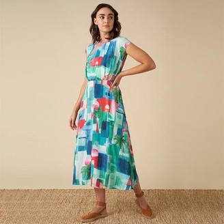 Emily And Fin Elodie Dress In Marrakech Print - 8