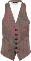 DSQUARED2 Checked Vest