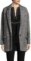 Isabel Marant Women's Wool Peal Lapel Coat